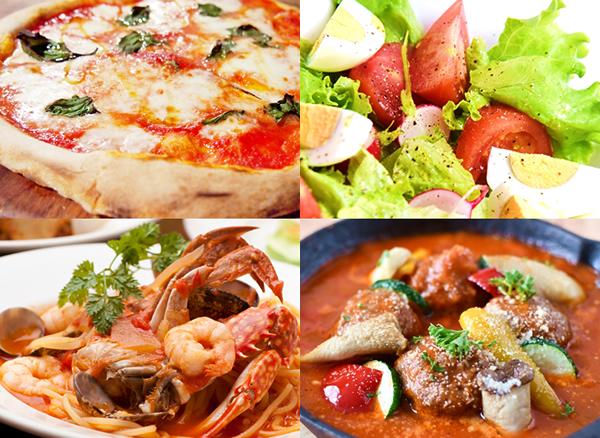 トマト料理ののイメージ