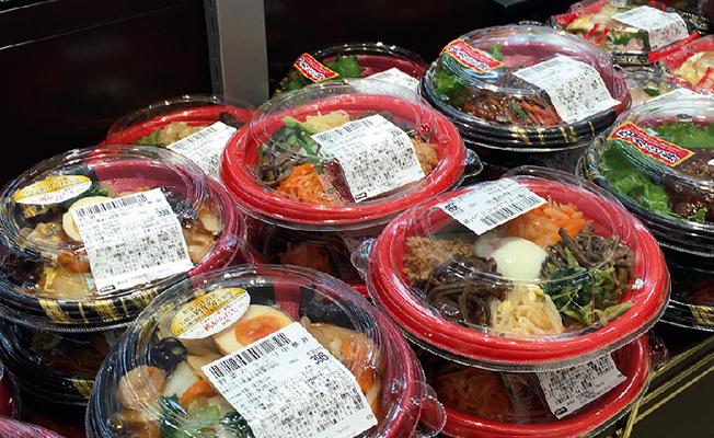 惣菜コーナーの写真
