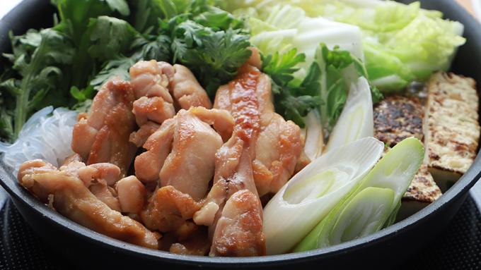げん気鶏のすき焼きイメージ